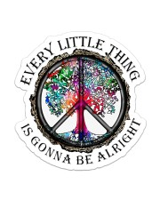 Hippie - Every Little Thing  Sticker - Single (Vertical) front