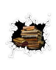 Book Crack Sticker - Single (Vertical) front