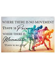 Running - Movement  17x11 Poster front