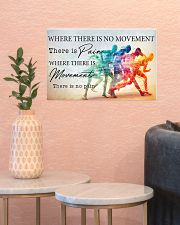 Running - Movement  17x11 Poster poster-landscape-17x11-lifestyle-21