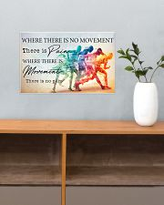 Running - Movement  17x11 Poster poster-landscape-17x11-lifestyle-24