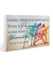 Running - Movement  Gallery Wrapped Canvas Prints tile
