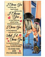 Gym - I Choose You Poster 11x17 Poster front