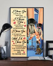 Gym - I Choose You Poster 11x17 Poster lifestyle-poster-2