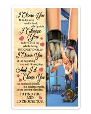 Gym - I Choose You Poster Sticker tile
