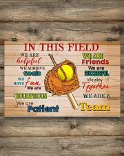 Softball - We Are A Team 17x11 Poster poster-landscape-17x11-lifestyle-14