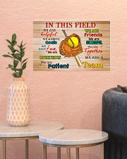 Softball - We Are A Team 17x11 Poster poster-landscape-17x11-lifestyle-21