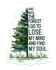 Sticker - Camping - Find My Soul Sticker - Single (Vertical) front