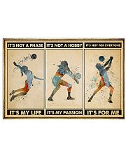 Volleyball - It's For Me Poster 17x11 Poster front