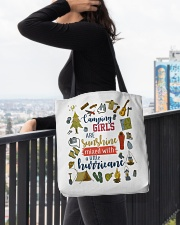 Camping - Camping Girls All-over Tote aos-all-over-tote-lifestyle-front-05