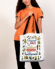 Camping - Camping Girls All-over Tote aos-all-over-tote-lifestyle-front-06