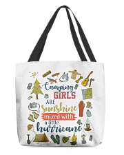 Camping - Camping Girls All-over Tote back