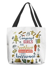 Camping - Camping Girls All-over Tote front