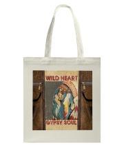 Hippie Girl Tote Bag thumbnail