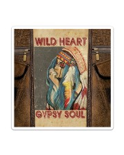 Hippie Girl Sticker - Single (Vertical) thumbnail