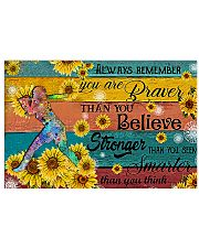 Softball - Always Remember 17x11 Poster front