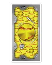 Softball Bling Sticker tile