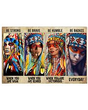 Native Be Strong 17x11 Poster front