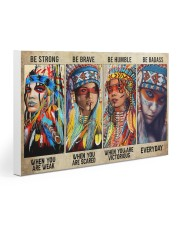Native Be Strong Gallery Wrapped Canvas Prints tile