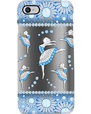 Ballet - Blue Phonecase Phone Case i-phone-8-case