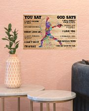 Softball You Say And God Say 17x11 Poster poster-landscape-17x11-lifestyle-21