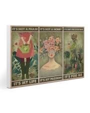 Garden Girl Gallery Wrapped Canvas Prints tile