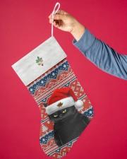 Black Cat Christmas Stocking - VMHPQH101120 Christmas Stocking aos-christmas-stocking-lifestyles-01