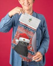 Black Cat Christmas Stocking - VMHPQH101120 Christmas Stocking aos-christmas-stocking-lifestyles-03