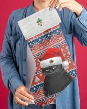 Black Cat Christmas Stocking - VMHPQH101120 Christmas Stocking aos-christmas-stocking-lifestyles-04