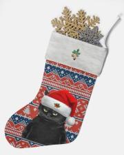 Black Cat Christmas Stocking - VMHPQH101120 Christmas Stocking aos-christmas-stocking-lifestyles-05