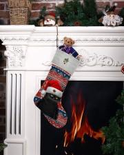 Black Cat Christmas Stocking - VMHPQH101120 Christmas Stocking aos-christmas-stocking-lifestyles-06