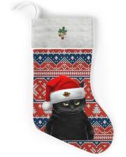 Black Cat Christmas Stocking - VMHPQH101120 Christmas Stocking back