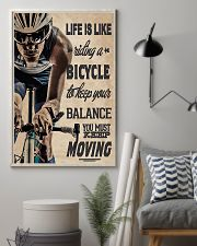 Cycling - Moving 11x17 Poster lifestyle-poster-1