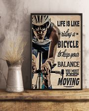 Cycling - Moving 11x17 Poster lifestyle-poster-3