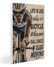 Cycling - Moving 20x30 Gallery Wrapped Canvas Prints thumbnail