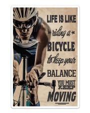 Cycling - Moving Sticker - Single (Vertical) thumbnail
