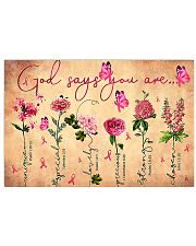 Bc v1 - God Says You Are 17x11 Poster front
