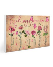 Bc v1 - God Says You Are 30x20 Gallery Wrapped Canvas Prints thumbnail