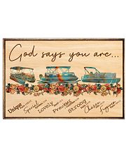 Pontoon - God Says You Are 17x11 Poster front
