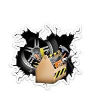 Mechanic Crack Sticker - Single (Vertical) front