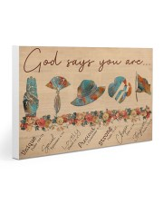 Girl Scout God Says You Are V2 Gallery Wrapped Canvas Prints tile