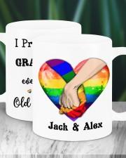 LGBT Hand In Hand Custom Mug ceramic-mug-lifestyle-16