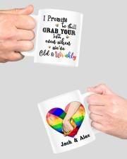 LGBT Hand In Hand Custom Mug ceramic-mug-lifestyle-42