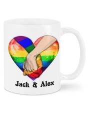 LGBT Hand In Hand Custom Mug front