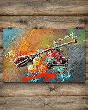 Softball - Colorful 17x11 Poster poster-landscape-17x11-lifestyle-14