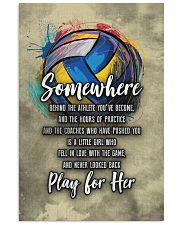 Volleyball - Play For Her 11x17 Poster front