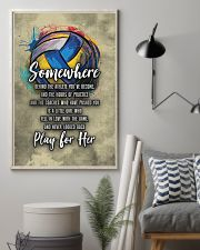 Volleyball - Play For Her 11x17 Poster lifestyle-poster-1