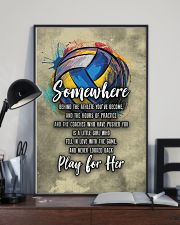 Volleyball - Play For Her 11x17 Poster lifestyle-poster-2