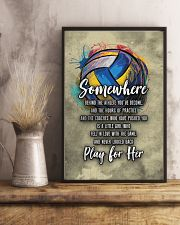 Volleyball - Play For Her 11x17 Poster lifestyle-poster-3