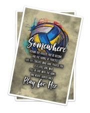 Volleyball - Play For Her Sticker - 2 pack (Vertical) thumbnail